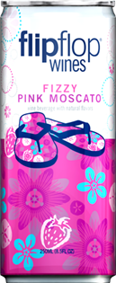 Flipflop Fizzy Pink Moscato 1.00l - Case...